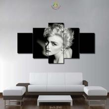 3-4-5 Pieces Dark Sexy Music Pop Celebrity Painting Wall Art Home Decorative HD Printed Canvas For Living Room