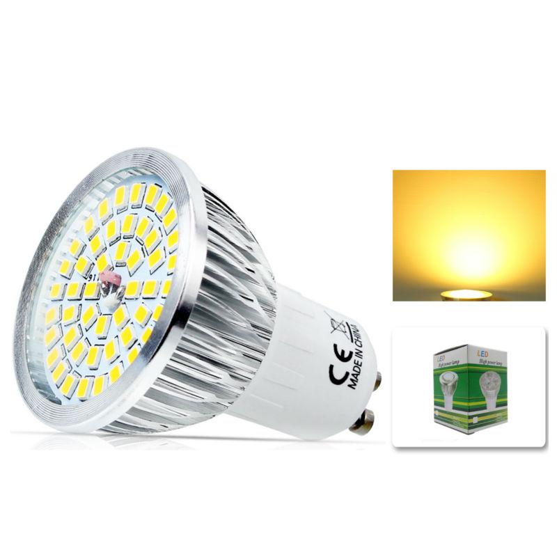 x gu w led bombillas de ahorro de energa lmpara del punto de luz halgena
