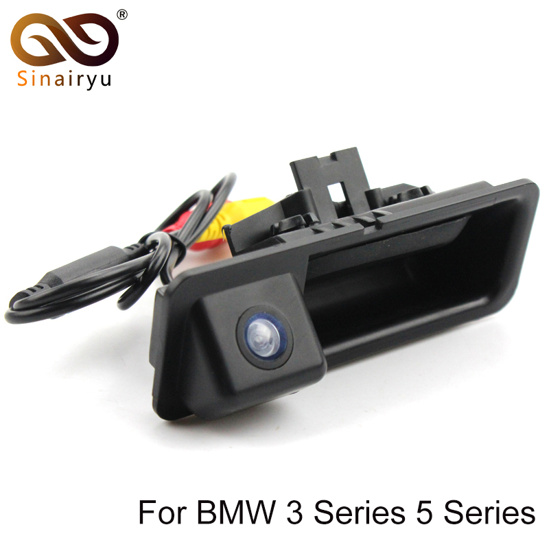 Sinairyu Special CCD Rear View Camera For BMW 3 Series 5 Series BMW E39 E46 Backup Night Vision Vehicle Camera Parking Assistanc цена