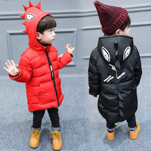 0ad4b63b9 Online Shop New Boys Winter Jacket Hooded red and black color coats ...