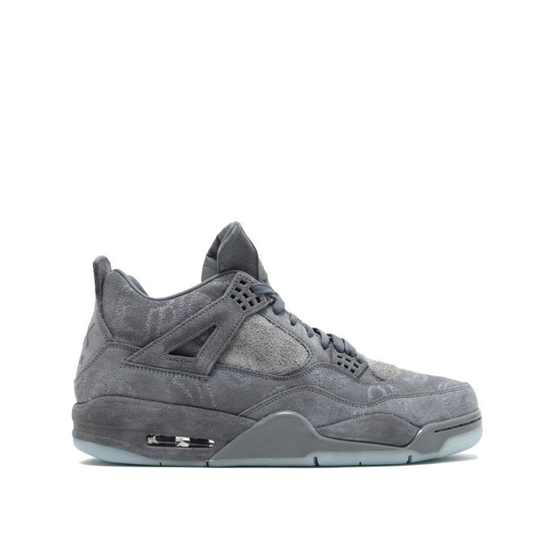 Original New Arrival Official Nike KAWS x Air Jordan 4 Cool Grey Breathable Men's Basketball Shoes Sports Sneakers Outdoor 2