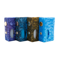 New BF Mod ALEADER X Drip BF Squonk Mod Mechanical Resin With 7ml PET Bottle Fit