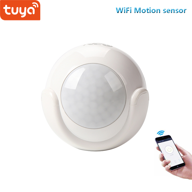US $17 97 38% OFF|Tuya smart home security wifi PIR sensor for smart life  free APP compatible-in Home Automation Modules from Consumer Electronics on