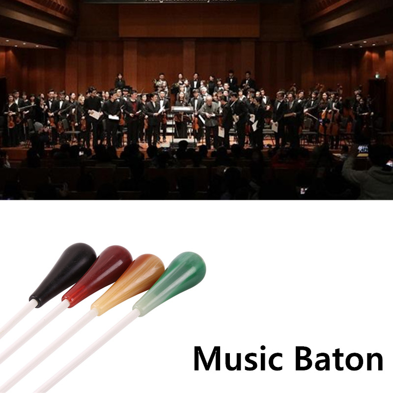 4 Colors Conductor Professional Music Baton Stage Performance Director Wand for Concert