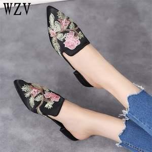 9524b97c3407f wzv Big size 2018 Sandals slippers Women Shoes Flip Flops