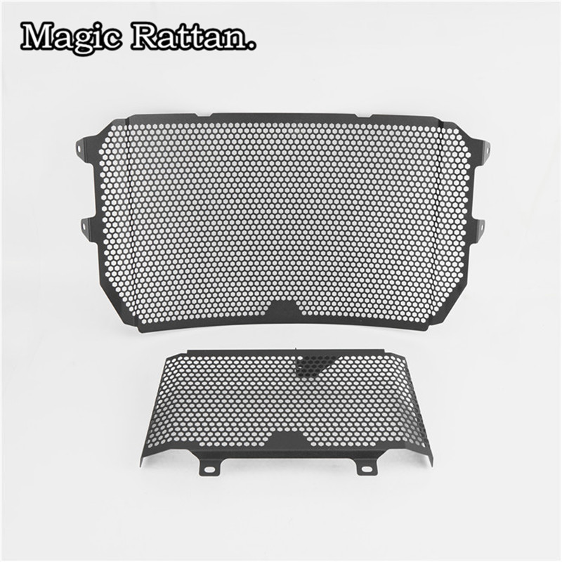 Motorcycle Radiator Grille Guard Protector Cover For MT-10 MT10 2015-2017 YZF-R1 R1 2015-2017 arashi motorcycle radiator grille protective cover grill guard protector for 2008 2009 2010 2011 honda cbr1000rr cbr 1000 rr