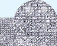 40*24cm Crystal Diamond Rhinestone Car/Mobile/PC/shoe/bag Decor Decal Styling Accessories Art Self Adhesive Scrapbooking Sticker