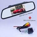 "Venda quente 4.3 ""TFT LCD a Cores De Estacionamento Auto Retrovisor Monitores do espelho para VW Polo Magotan Passat B6 Golf Jetta Bora"