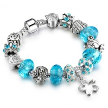 Silver Crystal Royal Bracelet