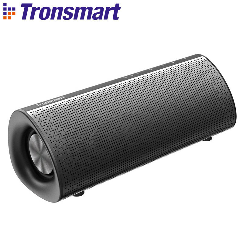 Tronsmart Element Pixie Bluetooth Speaker Portable Subwoofer Speakers Double Passive 20W Wireless Speaker for IOS Android Xiaomi 10000mah 20w outdoor cycling wireless bluetooth speaker for bike 10w 2 portable waterproof speaker subwoofer for android iphone