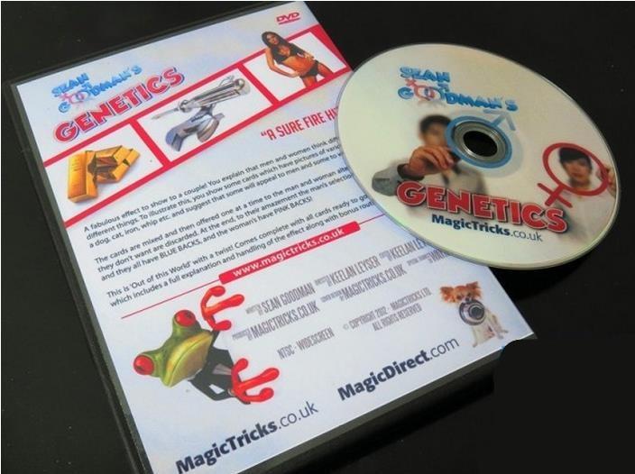 Genetics by Sean Goodman (DVD+Gimmick) - easy magic tricks,professional magic tricks,magic tricks for adults,Magic ShowGenetics by Sean Goodman (DVD+Gimmick) - easy magic tricks,professional magic tricks,magic tricks for adults,Magic Show