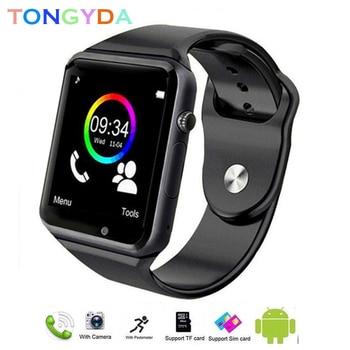 Montre intelligente hommes A1 montre Android étanche carte SIM TF Sport Bluetooth Smartwatch Android étanche avec caméra montre extérieure