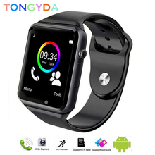 A1 Android Watch Smart Men Waterproof SIM Card TF Sport Bluetooth Smartwatch Outdoor with Camera