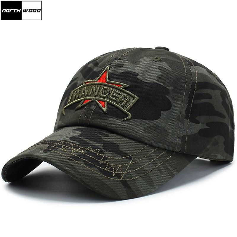 [NORTHWOOD] 2019 Camoufalge Men's   Baseball     Cap   Army Hat Summer Outdoor Tactical   Cap   Bone Gorras Masculino Camo Dad Hat