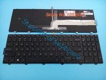 NOVO Inglês teclado Para Dell Inspiron 15 3000 15 5000 5559 17 5000 15 5547 3542 JYP58 0JYP58 Teclado Inglês com Backlit