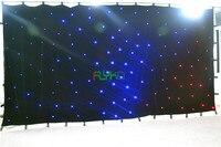 Рождественских использование светодиодный занавес звезды 3x6 м Бесплатная доставка