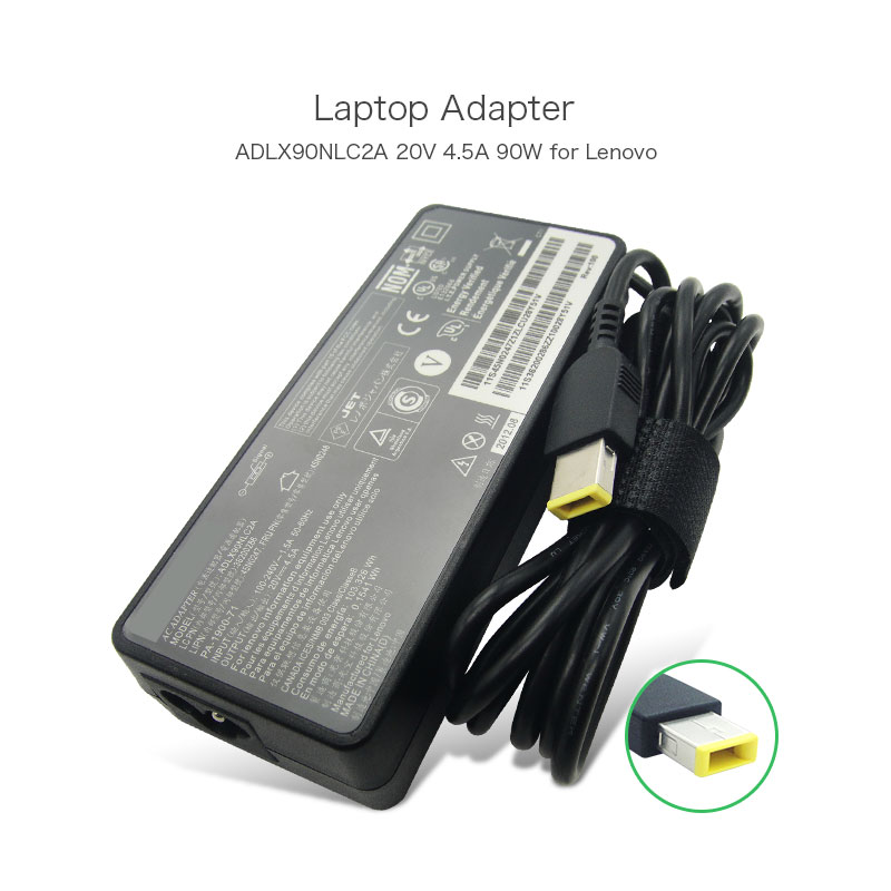 Best Selling Portable Laptop Charger 20V 4.5A 90W ADLX90NLC2A USB Adapter For Lenovo ThinkPad X1 Carbon Series Touch Ultrabook