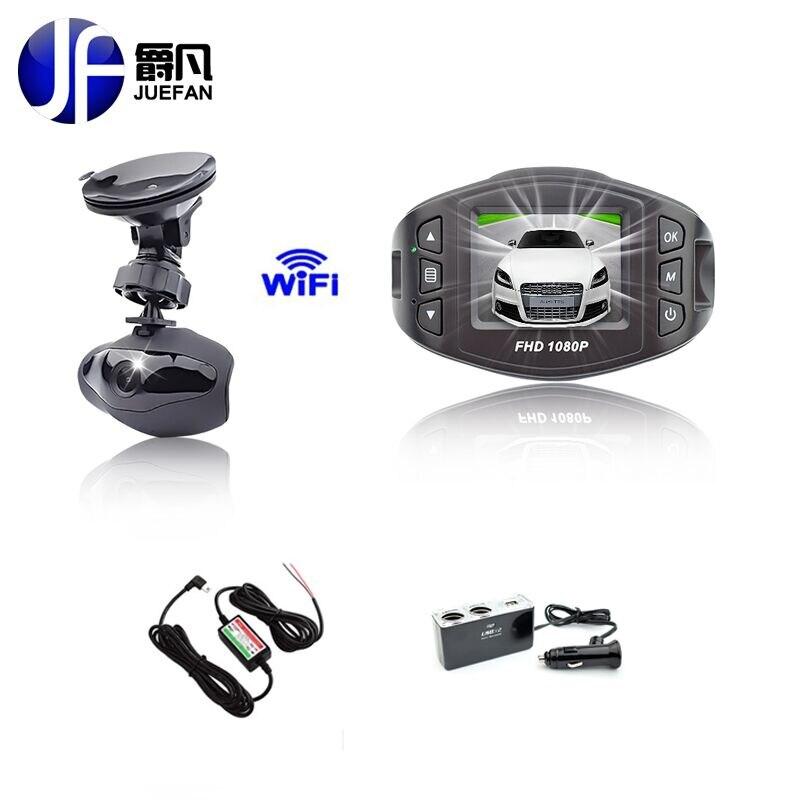 Черного ящика WiFi автомобиля детектор камеры 96658 Видеорегистраторы автомобильный видеорегистратор зеркало DVR полный hd1080p определения функции зрения регистратора 140 градусов