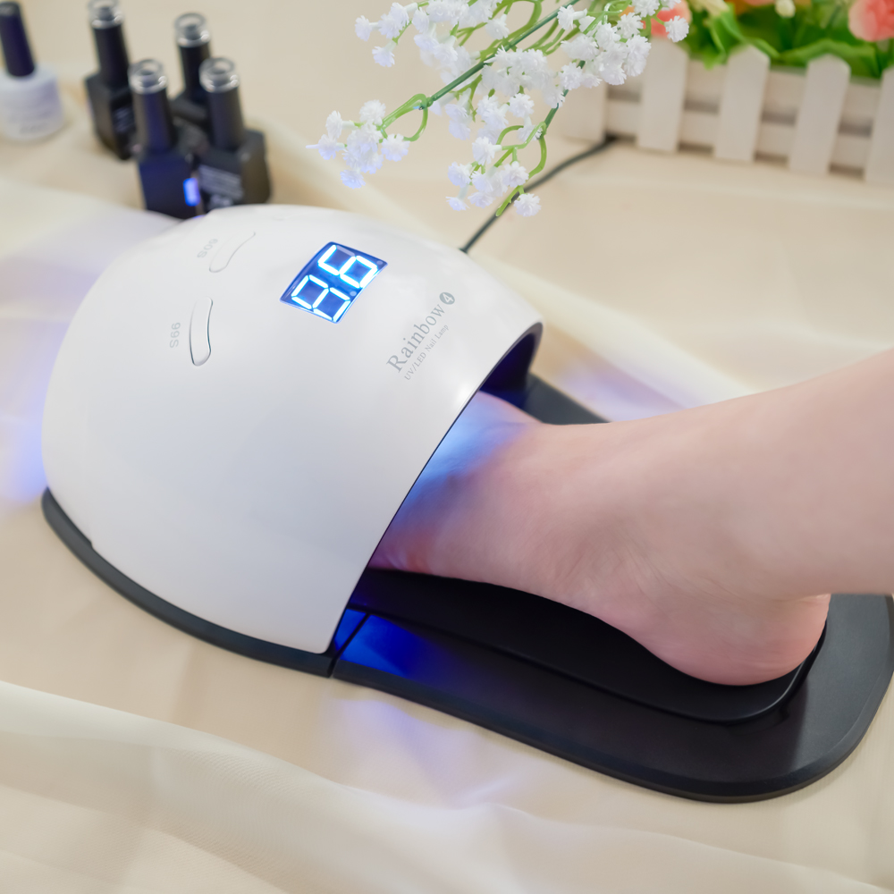 YingJia 48W Rainbow4 Professional LED UV Nail Lamp Led Nail Light Nail Dryer UV Lamp Ship from Estonia Warehouse