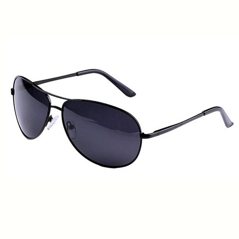 Поляризационные мужские солнцезащитные очки, Брендовые очки, мужские очки из пушечного металла, классические металлические солнцезащитные очки для мужчин