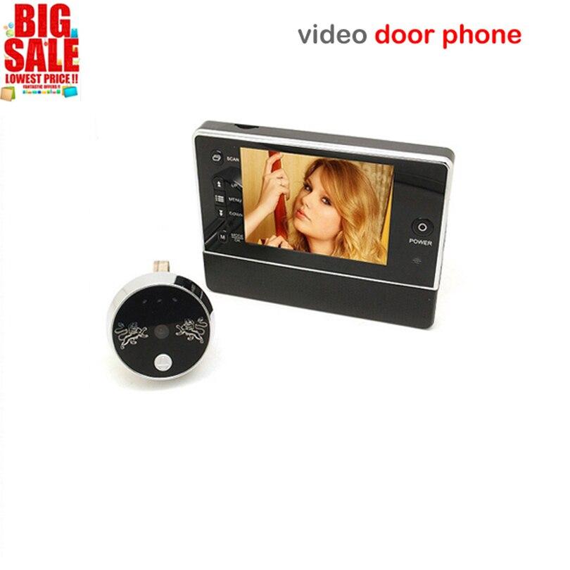 Hot Sell 3 5 LCD Color Screen video door phone Digital Door Viewer Smart Peephole font