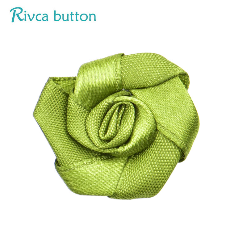 D03490 Rivca Snap Button Jewelry DIY Hat 18mm Mixcolour rose Flower Gifts For Women Earrings Fit Charm Leather Bracelets