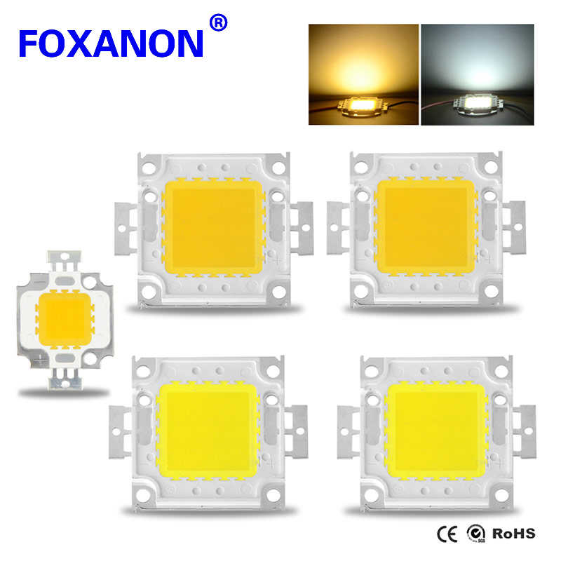 1Pcs LED 1W 3W 10W 20W 30W 50W 100W High Power lamp Integrated Chip light Source COB SMD Spotlight Bulb Floodlight