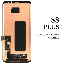 Phone Repair Replacement Spare Part For Samsung Galaxy S8 Plus LCD Screen Panel G955 6.2'' Black Super AMOLED Display Assembly for samsung galaxy trend lite s7390 s7392 lcd display panel monitor screen repair replacement part free tracking