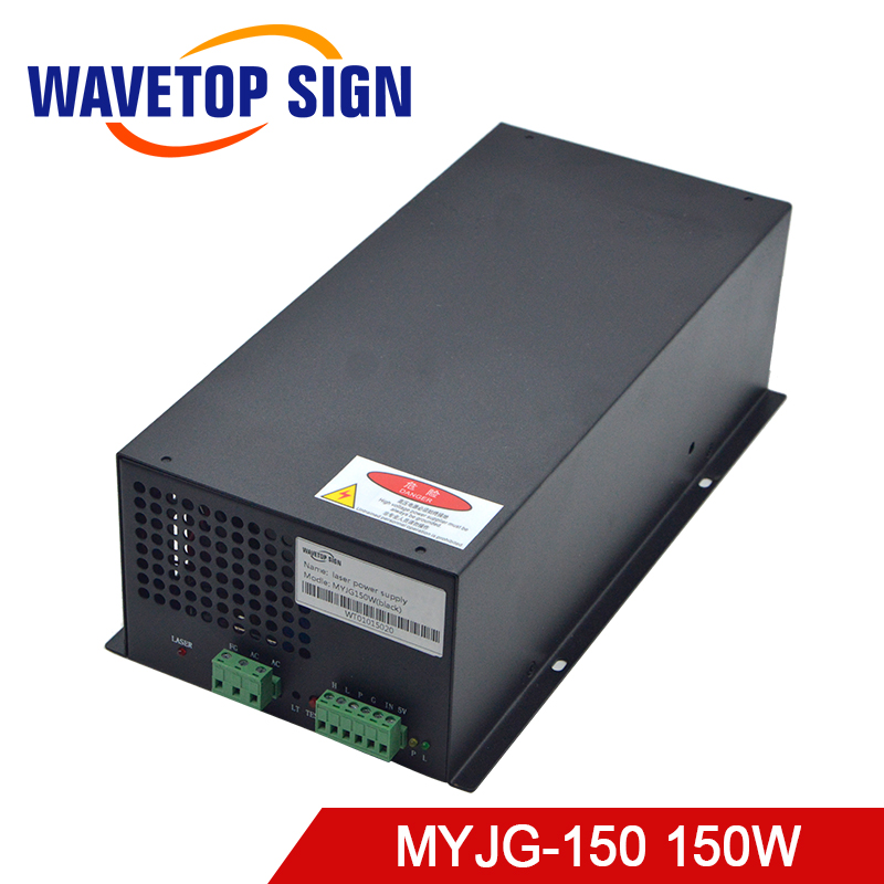 WaveTopSign MYJG-150W CO2 Laser Power Supply For CO2 Laser Engraving And Cutting Machine