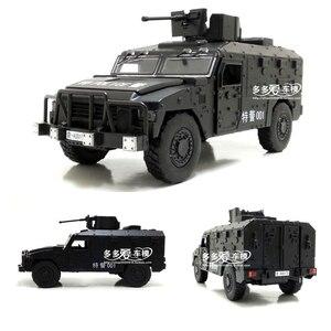 Image 2 - จำลอง1:32ล้อแม็กเลื่อนรัสเซียรถหุ้มเกราะป้องกันการระเบิดทหารรุ่นSound Lightรถเด็กของเล่น