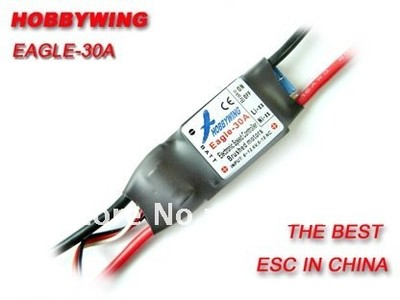 Hobbywing Brushed Eagle 30A ESC for RC airplane plane 370 380 390 280 270 motor