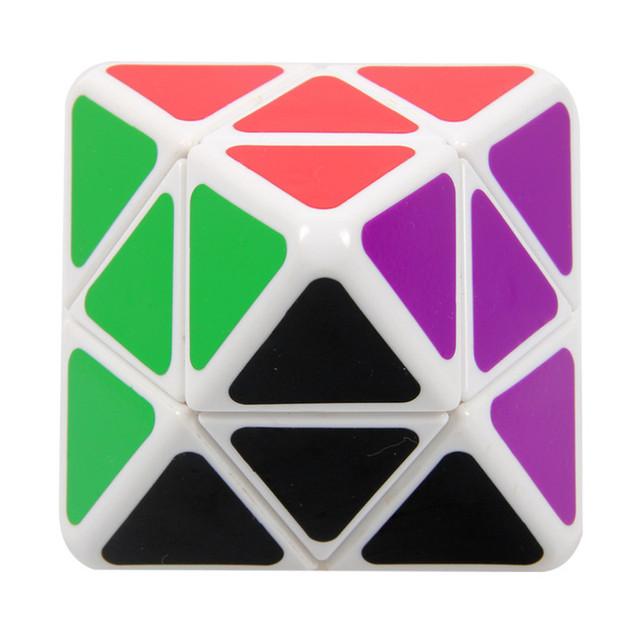 2014 nueva a estrenar LanLan eje octaédrica Cubo mágico profesional 2 x 2 x 2 IQ Test rompecabezas velocidad Cubo de educación de juguete