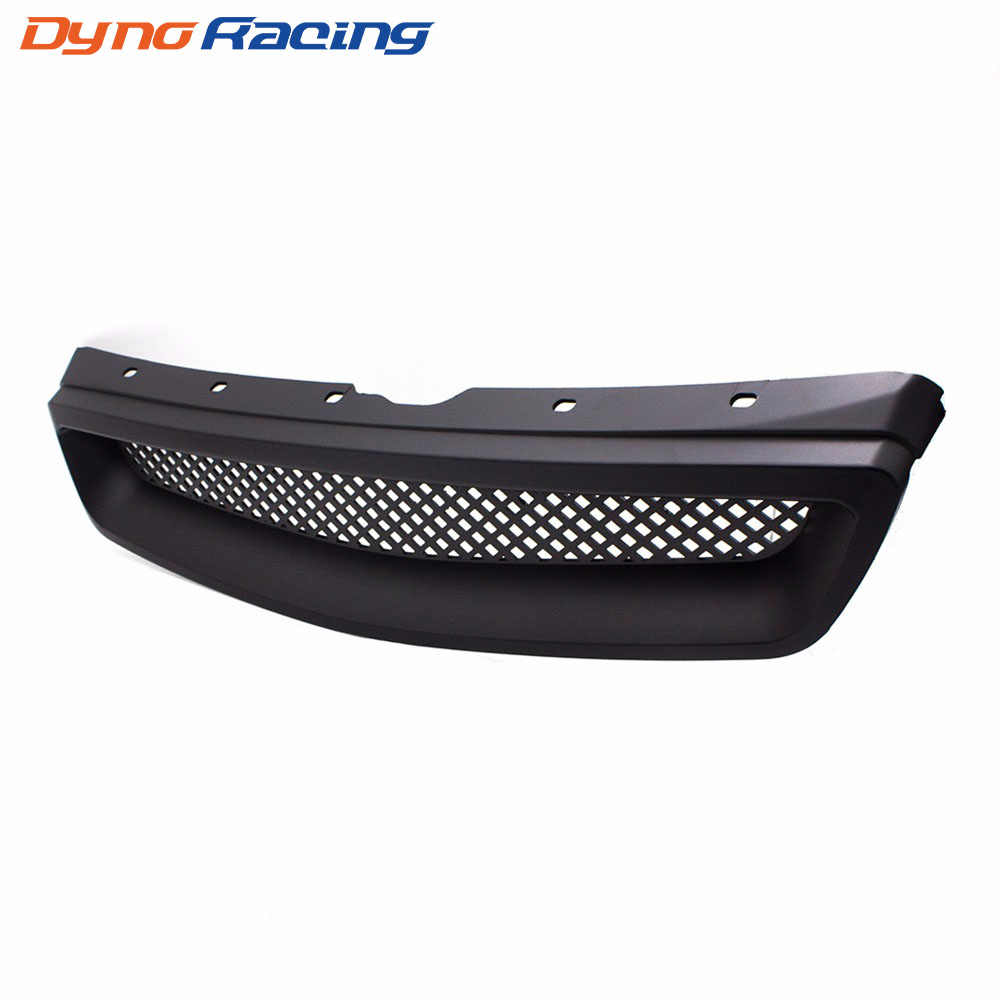 New Racing Car Front Grills Grille for 1999-2000 Honda Civic Type R Black ABS YC101066
