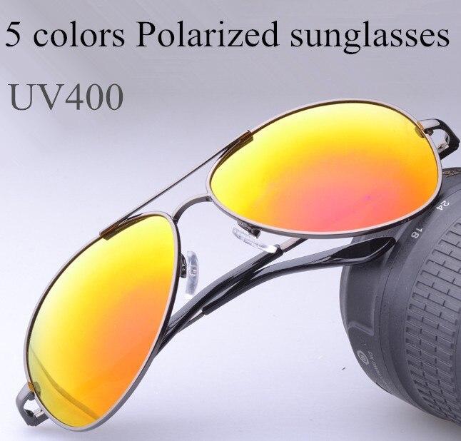 5 colors Classic brand designer font b polarized b font sunglasses men font b fashion b