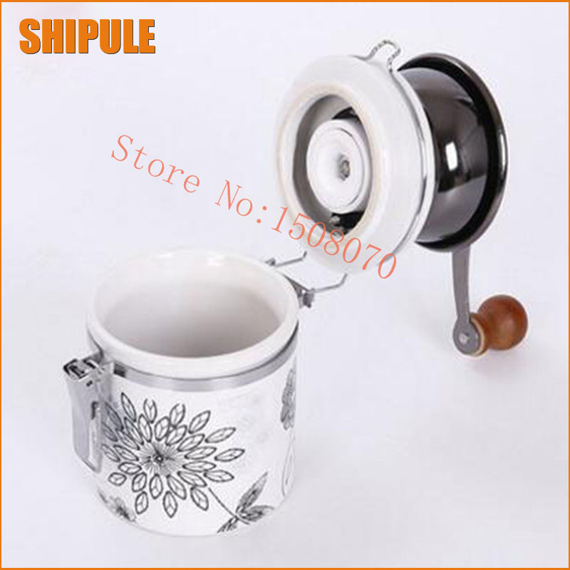 Manual Spice Coffee Bean Pepper Grinder Mill Stainless Steel Grinder with Ceramic Core Coffee maker