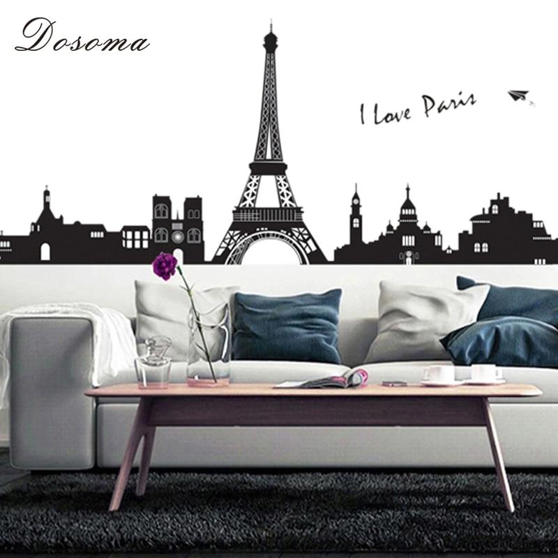 Online get cheap paris bedroom decor alibaba group - Eiffel tower decor for bedroom ...