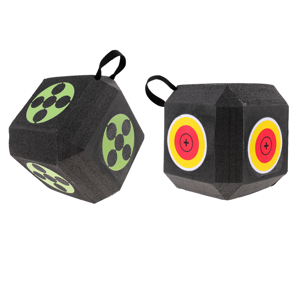 Image 4 - 18 Sided 3D Cube Reusable Archery Target Constructed with Rapid Self Recovery XPE Foam for all Arrow Types Hunting Shooting-in Paintball Accessories from Sports & Entertainment