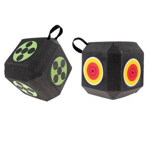 Image 4 - 18 seitige 3D Cube Wiederverwendbare Bogenschießen Ziel Gebaut mit Schnelle Selbst Recovery XPE Schaum für alle Pfeil Arten Jagd schießen