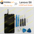 Lenovo S8 LCD Display +Touch Screen 100% Original Digitizer Assembly Replacement For Lenovo S8/Lenovo S898t Cell Phone Free Ship