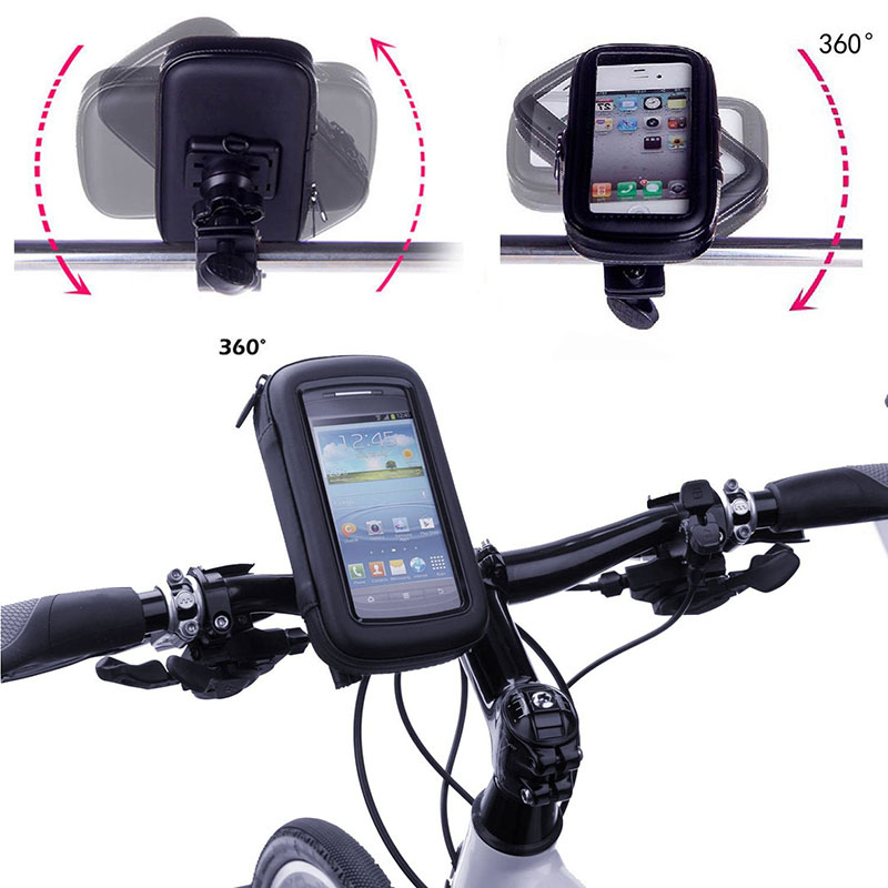Bike Bag Waterproof Cycling Bicycle Phone Holder Bike Holder Handlebar for Xiaomi Mi5