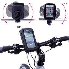Велосипед Мешок Водонепроницаемый Велоспорт Велосипед Держатель Телефона Велосипед Держатель Руль для Xiaomi Mi5