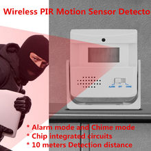 Wireless PIR Motion Sensor Detector Entry ประตู Bell (China)