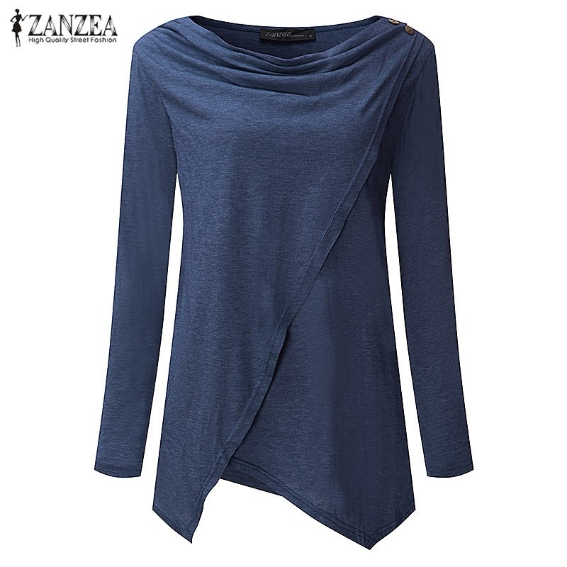 HTB1SS2pOVXXXXXmaXXXq6xXFXXXb - Women Cardigan Long Sleeve O Neck Casual Loose Blouses