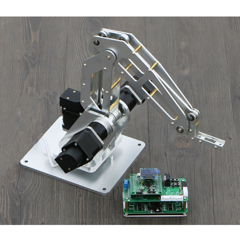 2018 Finished Mechanical Arm with Stepper Motor Encoder Flexible End Effector 5 feet encoder [ with stepper 16 00 ]