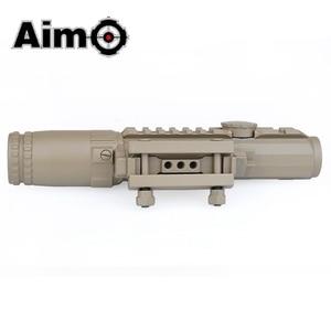 Image 4 - Aim O Airsoft Riflescope 1 3X Magnification Tactical Scope Aluminum Shooting Rifle Softair Telescope AO3033 Hunting Optics