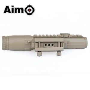 Image 4 - Lunette de visée Airsoft 1 3X grossissement portée tactique fusil de tir en aluminium télescope Softair AO3033 optique de chasse