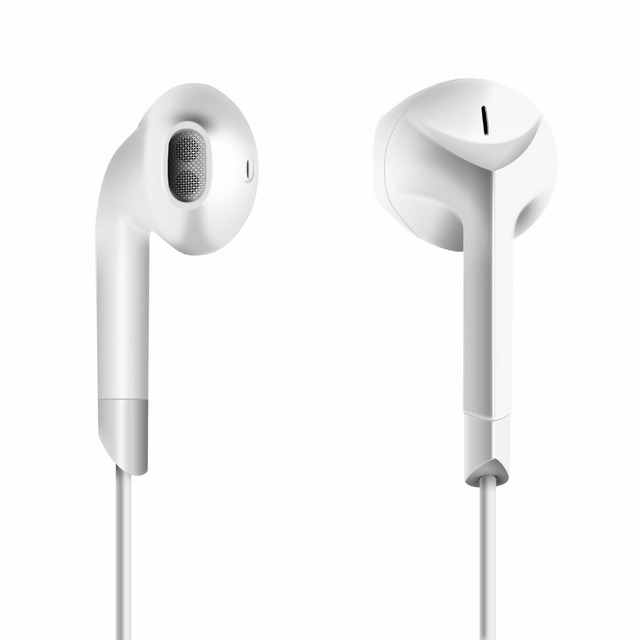 Original PTM P6 Earphone Patent Half In-ear Headphone Stereo Earbuds Bass Headset with Microphone for iPhone Xiaomi