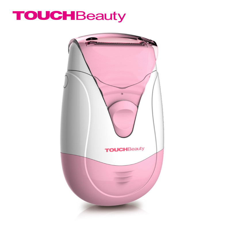 TOUCHBeauty Women Epilator Hair Removal Water Resistant 2AAA Battery Dual Trimmer Systems Depilation Spring Hair Remover TB-0806