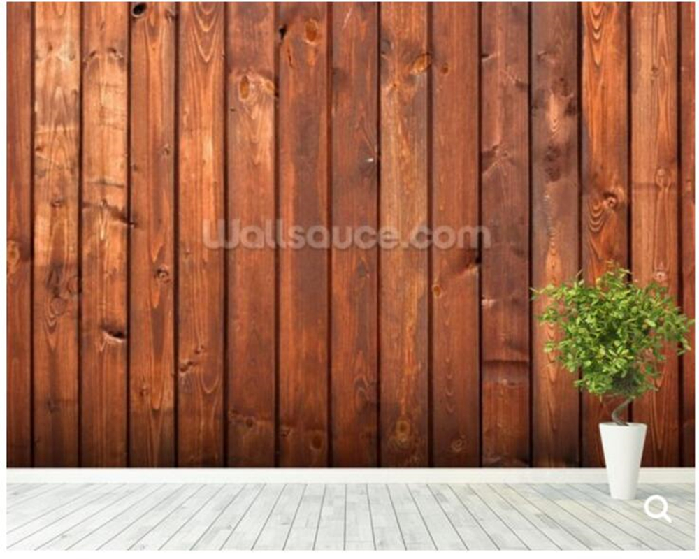 Benutzerdefinierte personalisierte tapeten, Holz Textur Dunklen ...