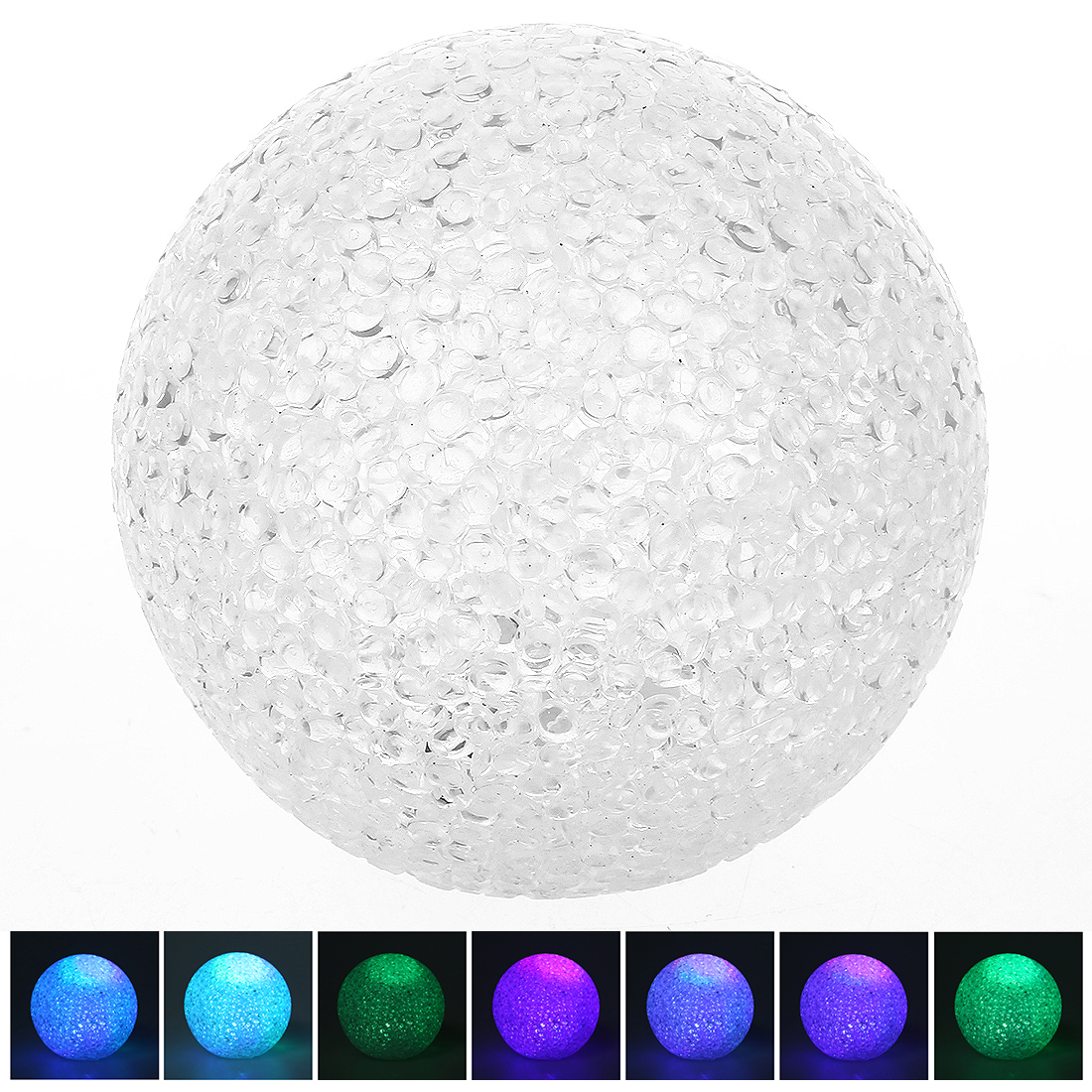 Baby LED Night Light Children Lamp Ball Motif with Color Changing Sleep Aid